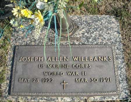 WILLBANKS (VETERAN WWII), JOSEPH ALLEN - Faulkner County, Arkansas | JOSEPH ALLEN WILLBANKS (VETERAN WWII) - Arkansas Gravestone Photos