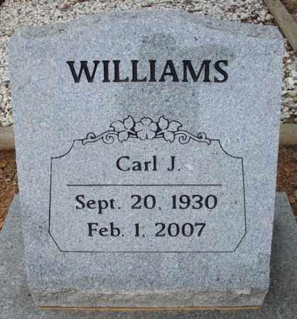 WILLIAMS, CARL J. - Faulkner County, Arkansas | CARL J. WILLIAMS - Arkansas Gravestone Photos