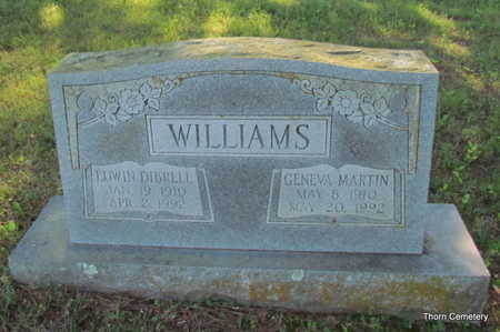 MARTIN WILLIAMS, GENEVA - Faulkner County, Arkansas | GENEVA MARTIN WILLIAMS - Arkansas Gravestone Photos
