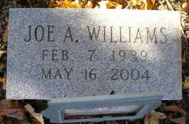 WILLIAMS, JOE A. - Faulkner County, Arkansas | JOE A. WILLIAMS - Arkansas Gravestone Photos