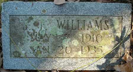 WILLIAMS, J.T. - Faulkner County, Arkansas   J.T. WILLIAMS - Arkansas Gravestone Photos