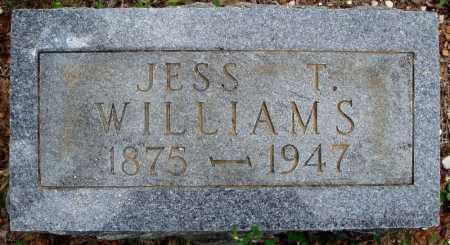 WILLIAMS, JESS T. - Faulkner County, Arkansas | JESS T. WILLIAMS - Arkansas Gravestone Photos
