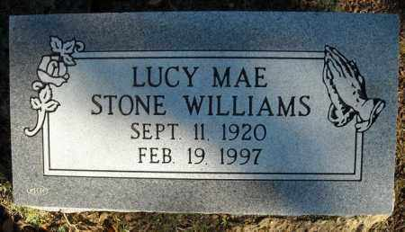 STONE WILLIAMS, LUCY MAE - Faulkner County, Arkansas   LUCY MAE STONE WILLIAMS - Arkansas Gravestone Photos