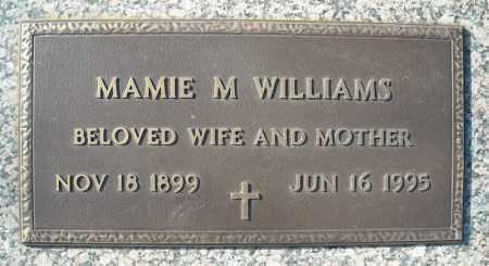 WILLIAMS, MAMIE M. - Faulkner County, Arkansas | MAMIE M. WILLIAMS - Arkansas Gravestone Photos