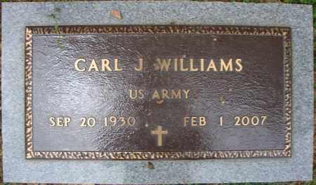 WILLIAMS (VETERAN), CARL J - Faulkner County, Arkansas   CARL J WILLIAMS (VETERAN) - Arkansas Gravestone Photos