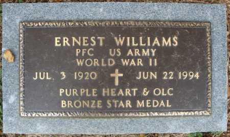 WILLIAMS (VETERAN WWII), ERNEST - Faulkner County, Arkansas   ERNEST WILLIAMS (VETERAN WWII) - Arkansas Gravestone Photos