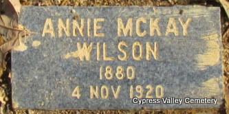 WILSON, ANNE - Faulkner County, Arkansas | ANNE WILSON - Arkansas Gravestone Photos