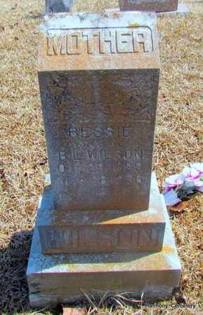 WILSON, BESSIE - Faulkner County, Arkansas   BESSIE WILSON - Arkansas Gravestone Photos