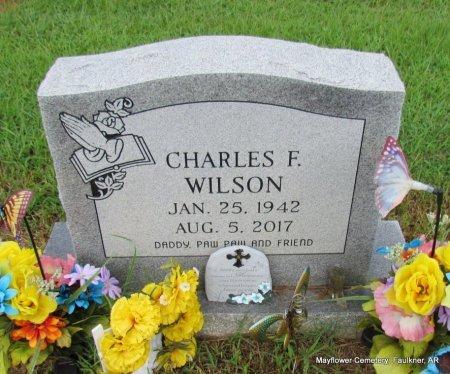 WILSON, CHARLES FAYBURN - Faulkner County, Arkansas | CHARLES FAYBURN WILSON - Arkansas Gravestone Photos