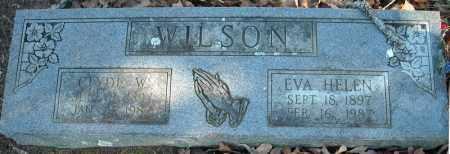 WILSON, EVA HELEN - Faulkner County, Arkansas | EVA HELEN WILSON - Arkansas Gravestone Photos