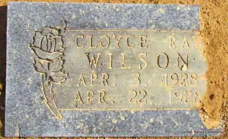 WILSON, CLOYCE RAY - Faulkner County, Arkansas | CLOYCE RAY WILSON - Arkansas Gravestone Photos