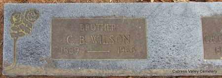 WILSON, CALEB B. (CLOSE UP) - Faulkner County, Arkansas | CALEB B. (CLOSE UP) WILSON - Arkansas Gravestone Photos