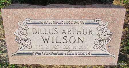 WILSON, DILLUS ARTHUR - Faulkner County, Arkansas | DILLUS ARTHUR WILSON - Arkansas Gravestone Photos