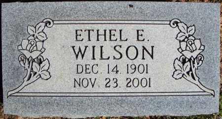 WILSON, ETHEL E. - Faulkner County, Arkansas | ETHEL E. WILSON - Arkansas Gravestone Photos