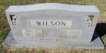 WILSON, FRED A. - Faulkner County, Arkansas   FRED A. WILSON - Arkansas Gravestone Photos