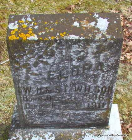WILSON, FLORA E. - Faulkner County, Arkansas   FLORA E. WILSON - Arkansas Gravestone Photos
