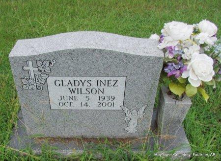 WILSON, GLADYS INEZ REAGAN - Faulkner County, Arkansas | GLADYS INEZ REAGAN WILSON - Arkansas Gravestone Photos