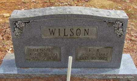 WILSON, ERASTUS RAY - Faulkner County, Arkansas | ERASTUS RAY WILSON - Arkansas Gravestone Photos