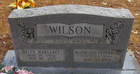 "WILSON, RAYMOND ""PETERBOAT"" - Faulkner County, Arkansas | RAYMOND ""PETERBOAT"" WILSON - Arkansas Gravestone Photos"