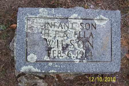 WILSON, INFANT SON #2 (1914) - Faulkner County, Arkansas | INFANT SON #2 (1914) WILSON - Arkansas Gravestone Photos