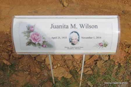 WILSON, JUANITA M. - Faulkner County, Arkansas   JUANITA M. WILSON - Arkansas Gravestone Photos