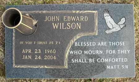 WILSON, JOHN EDWARD - Faulkner County, Arkansas | JOHN EDWARD WILSON - Arkansas Gravestone Photos