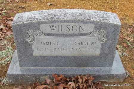 WILSON, JAMES GRAHAM - Faulkner County, Arkansas | JAMES GRAHAM WILSON - Arkansas Gravestone Photos