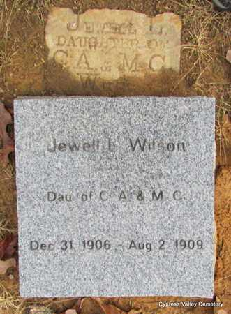 WILSON, JEWELL L. - Faulkner County, Arkansas | JEWELL L. WILSON - Arkansas Gravestone Photos