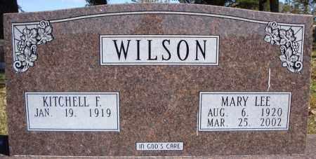 WILSON, KITCHELL F. - Faulkner County, Arkansas | KITCHELL F. WILSON - Arkansas Gravestone Photos