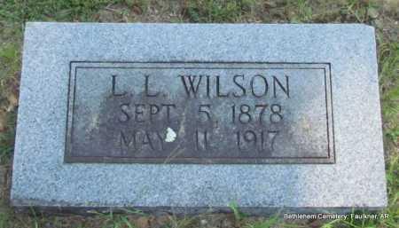 WILSON, LUSH L - Faulkner County, Arkansas | LUSH L WILSON - Arkansas Gravestone Photos