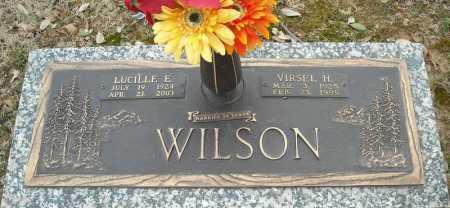 WILSON, LUCILLE E. - Faulkner County, Arkansas | LUCILLE E. WILSON - Arkansas Gravestone Photos