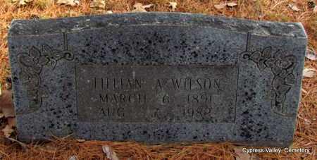 WILSON, LILLIAN A. - Faulkner County, Arkansas | LILLIAN A. WILSON - Arkansas Gravestone Photos