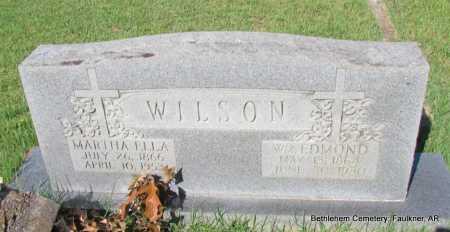 WILSON, MARTHA ELLA - Faulkner County, Arkansas | MARTHA ELLA WILSON - Arkansas Gravestone Photos