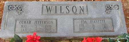 "WILSON, OTHAR JEFFERSON ""CASEY"" - Faulkner County, Arkansas | OTHAR JEFFERSON ""CASEY"" WILSON - Arkansas Gravestone Photos"