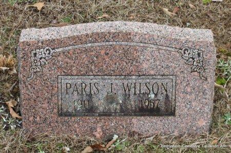 WILSON, PARIS JAY - Faulkner County, Arkansas | PARIS JAY WILSON - Arkansas Gravestone Photos