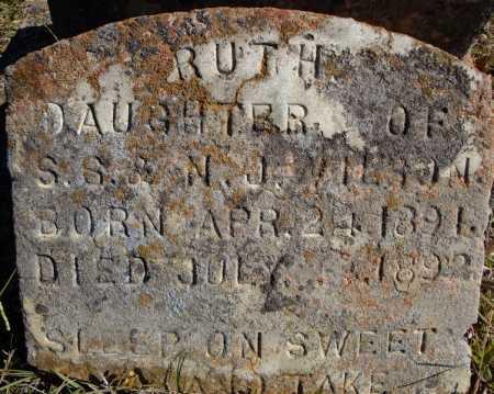 WILSON, RUTH - Faulkner County, Arkansas | RUTH WILSON - Arkansas Gravestone Photos