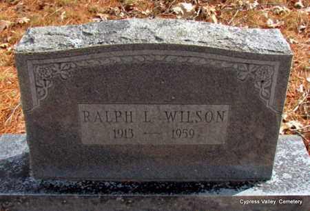 WILSON, RALPH LEON - Faulkner County, Arkansas   RALPH LEON WILSON - Arkansas Gravestone Photos