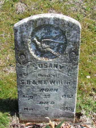 WILSON, SUSAN V. - Faulkner County, Arkansas | SUSAN V. WILSON - Arkansas Gravestone Photos