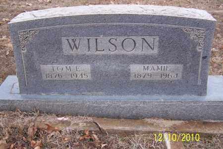 WILSON, MAMIE - Faulkner County, Arkansas | MAMIE WILSON - Arkansas Gravestone Photos