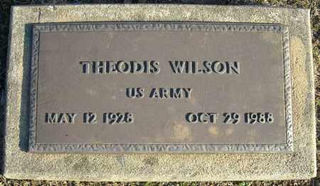 WILSON (VETERAN), THEODIS - Faulkner County, Arkansas | THEODIS WILSON (VETERAN) - Arkansas Gravestone Photos
