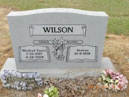 WILSON, AVALENE - Faulkner County, Arkansas | AVALENE WILSON - Arkansas Gravestone Photos