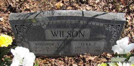 WILSON, WOODROW STRODY - Faulkner County, Arkansas | WOODROW STRODY WILSON - Arkansas Gravestone Photos