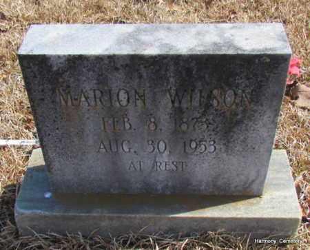 WILSON, MARION - Faulkner County, Arkansas | MARION WILSON - Arkansas Gravestone Photos