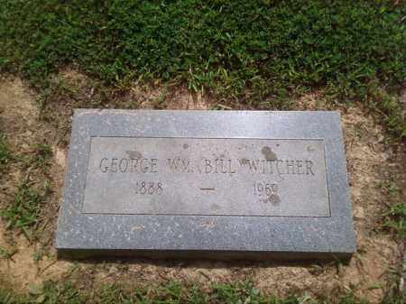 "WITCHER, GEORGE WILLIAM ""BILL"" - Faulkner County, Arkansas 