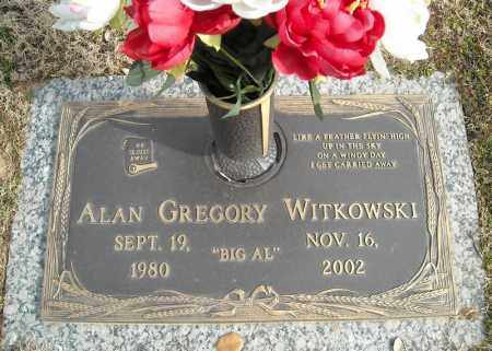 WITKOWSKI, ALAN GREGORY - Faulkner County, Arkansas | ALAN GREGORY WITKOWSKI - Arkansas Gravestone Photos