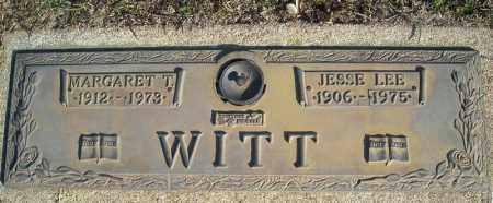 WITT, JESSE LEE - Faulkner County, Arkansas | JESSE LEE WITT - Arkansas Gravestone Photos