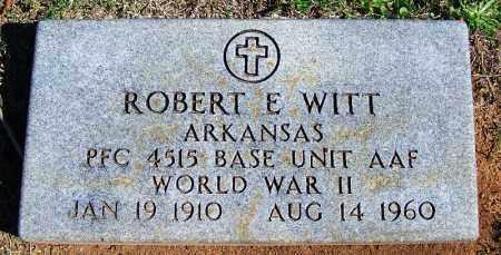 WITT (VETERAN WWII), ROBERT E - Faulkner County, Arkansas | ROBERT E WITT (VETERAN WWII) - Arkansas Gravestone Photos
