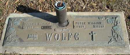 WOLFE, PETER WILLIAM - Faulkner County, Arkansas | PETER WILLIAM WOLFE - Arkansas Gravestone Photos