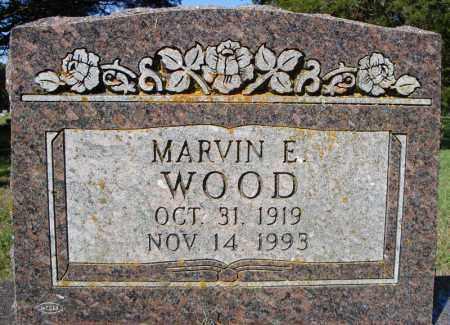WOOD, MARVIN E. - Faulkner County, Arkansas | MARVIN E. WOOD - Arkansas Gravestone Photos