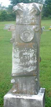 WOODRUFF, GEORGE F. - Faulkner County, Arkansas   GEORGE F. WOODRUFF - Arkansas Gravestone Photos